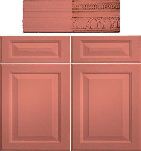 Retique It Chalk Furniture Paint by Renaissance DIY, 16 oz (Pint), 55 Aegean Coral