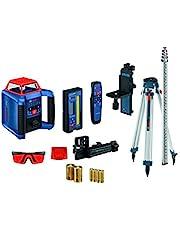 BOSCH REVOLVE2000 GRL2000-40HK Exterior 2000ft Range Horizontal Self-Leveling Cordless Rotary Laser Kit with Tripod