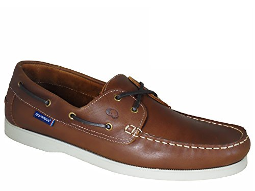 Shoes Deck Quayside Porto Ladies Quality Walnut Leather dwIXdqaUAc