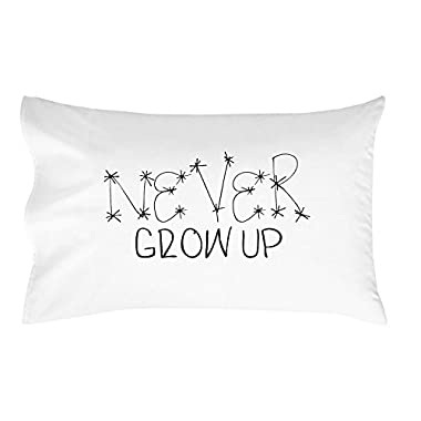 Oh, Susannah Never Grow Up Toddler Size Pillowcase (1 Pillow Cover 14 x 20.5 Inches)