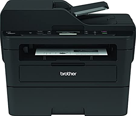Brother DCPL2550DN - Impresora multifunción láser monocromo con red e impresión dúplex + Brother TN-2410 Laser cartridge 1200 páginas Negro tóner y ...