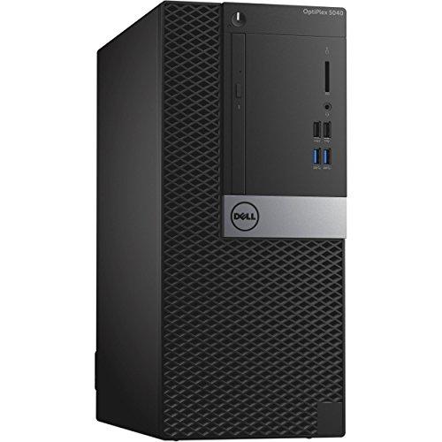 Dell OptiPlex 5040 Mini Tower   Intel Core 6th Generation i7-6700   8 GB DDR3L   500 GB 7200 RPM   AMD Radeon R5 340X   Windows 10 Pro