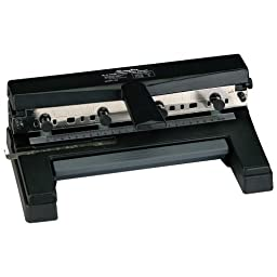 Swingline 2-to-4 Hole Heavy Duty Paper Punch with T-Handle (A7074450E)