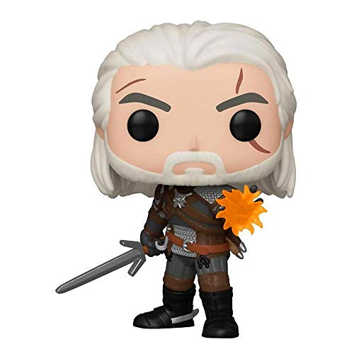 Funko Pop! Games The Witcher 3 Wild Hunt - Geralt Glow in The Dark GameStop Exclusive Vinyl Figurine