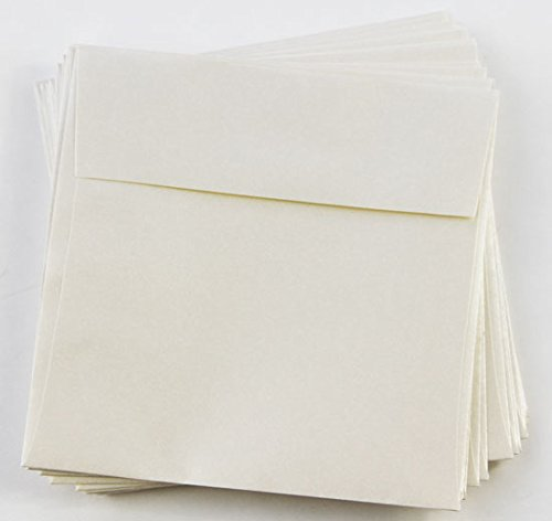 6 1/2 Square Stardream Opal Envelopes - Square Flap, 81T, 25 Pack ()
