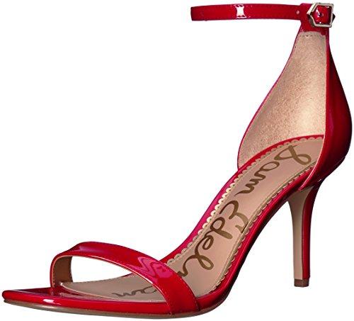 Sam Edelman Sandalias de vestir, Mujer Rojo (candy red)