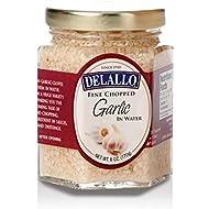 DeLallo - Fine Chopped Garlic in Water, (2)- 6 oz. Jars