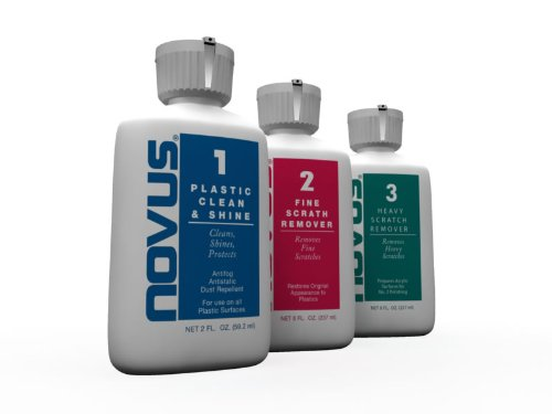 Novus 7136 Plastic Polish Kit - 2 oz.