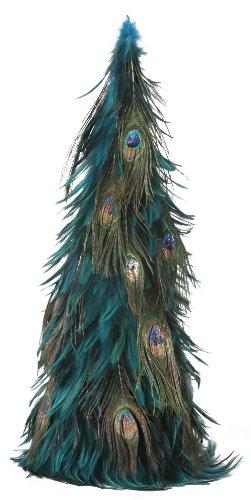 ZUCKER  Hackle-Peacock Eye Feather Christmas Tree - DKT/N/CPR