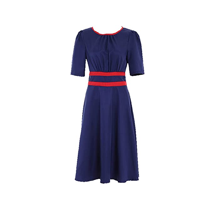 1940s Costumes- WW2, Nurse, Pinup, Rosie the Riveter Womens Officer Agent Margaret/Peggy Carter Dress Cosplay Costume Suit $92.99 AT vintagedancer.com