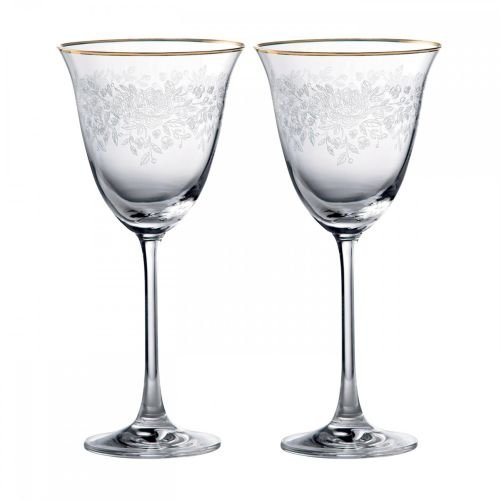 Royal Albert OCRSTM26819 Old Country Roses Wine Glass, 8.8&quot, Clear