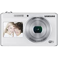 Samsung Electronics EC-DV180FBPWUS Dual-View Wireless Smart Camera (White) At A Glance Review Image