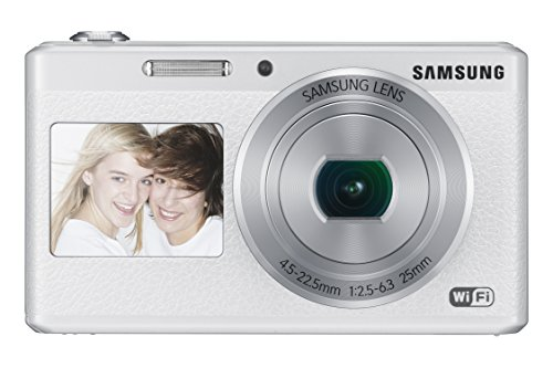 (Samsung Electronics EC-DV180FBPWUS Dual-View Wireless Smart Camera (White))