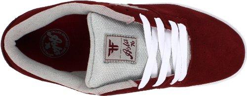 Fallen Men's 01/01/114346 skateboarding shoes Black/White 0jmKDh