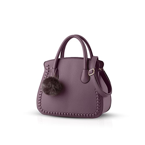 Nicole&Doris ladies/women/female handbag female bag handbags purse Senior PU handbags(Dark Red) Dark Red