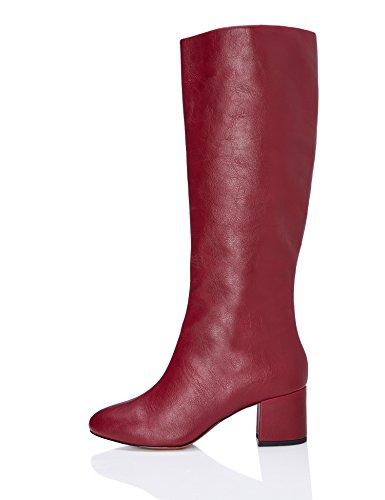 FIND Rouge Femme Red Dk Bottes qwHv4