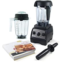 Vitamix CIA Professional Series 300 Onyx Blender With Wet Container, Dry Grai... by Vitamix