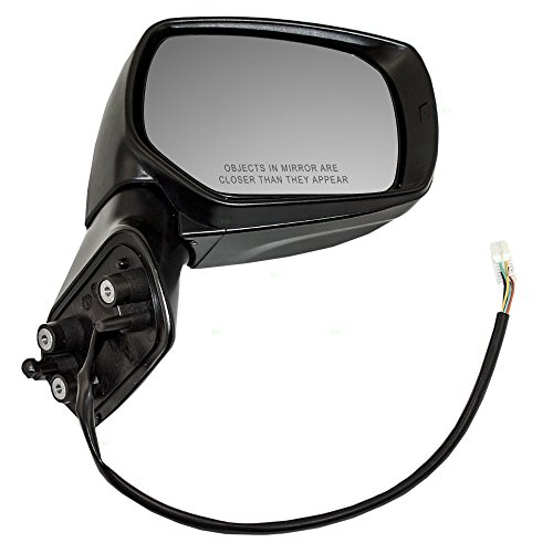 Passengers Power Side View Mirror Ready-to-Paint Replacement for Subaru SUV 91036SG011 -