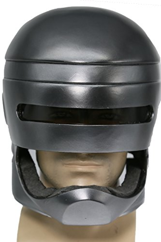 XCOSER Robocop Helmet Mask Costume Props Accessories for Halloween (Robocop Costume For Sale)