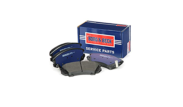 Mando Includes Wear Indicators//Leads Borg /& Beck BBP2081 Front Brake Pads
