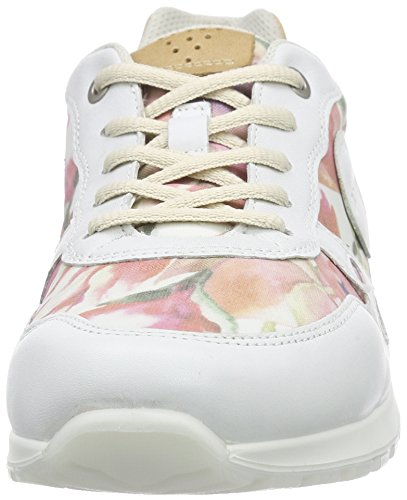 Floralprint Damen 59767 Ecco White Mehrfarbig Sneakers CS14 Powder q5TTwX8