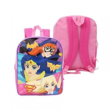 Backpack - DC Comics - Super Hero Trio Girls New 68126  Amazon.co.uk  Toys    Games 93cb91c745