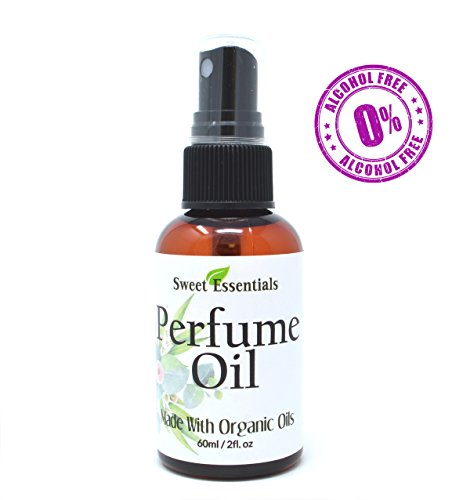 Jasmine Vanilla - Fragrance/Perfume Oil - 2oz Made with Organic Oils - Spray on Perfume Oil - Alcohol & Preservative Free