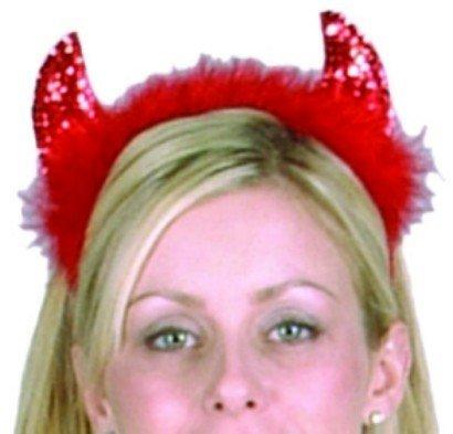 Devilina Costumes (RG Costumes Sequin Devilina Devil Horns Costume)