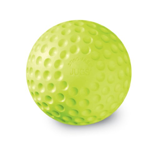 Jugs Sting-Free Dimpled Softballs, One dozen (12-Inch, Yellow) by JUGS SPORTS