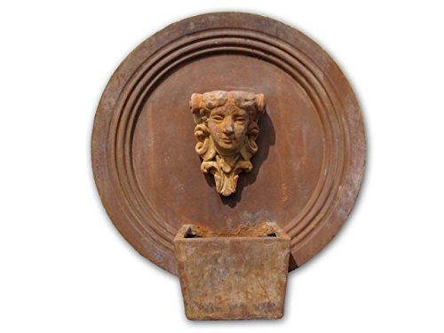 壁泉噴水 女神の壁泉A(循環ポンプ付) 人造石製 B01E8S2EWQ