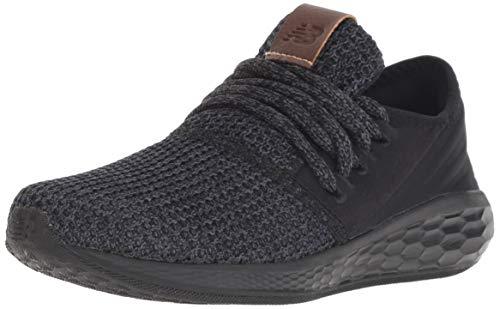 New Balance Boys' Fresh Foam Cruz Running Shoe Black/Magnet 13 M US Little Kid