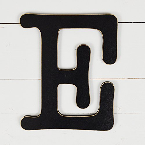 UNFINISHEDWOODCO 300564 Typewriter Wall Decor Letter E, 11.5'', Black by UNFINISHEDWOODCO