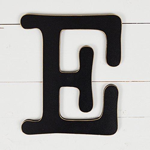 UNFINISHEDWOODCO 11.5 Typewriter Wall Decor Letter E- Black 300564