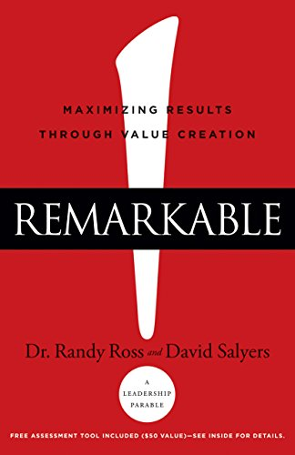 Amazon remarkable maximizing results through value creation remarkable maximizing results through value creation by salyers david ross fandeluxe Images