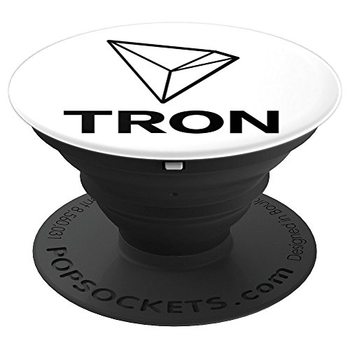 Tron TRX Cryptocurrency - PopSockets Grip and Stand for Phones and Tablets