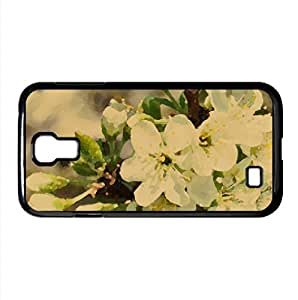 Apple Flowers Bunch Watercolor style Cover Samsung Galaxy S4 I9500 Case (Spring Watercolor style Cover Samsung...