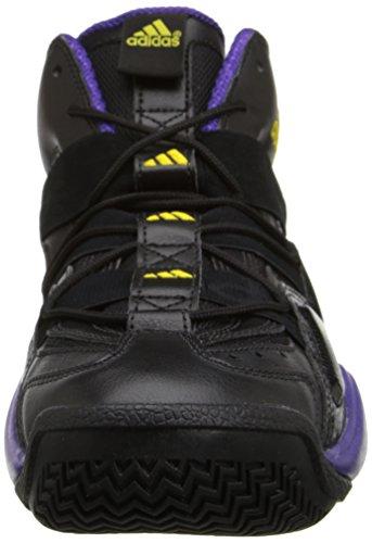 Adidas Heren Top Tien Van 2000 Lakers Zwart / Geel-paars G56095 Schoen