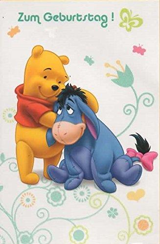 Biglietto Di Auguri Disney Winnie Pooh Compleanno Amazon It