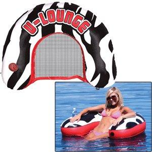 U-Lounger Zebra Lake and Pool Float