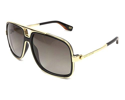 (Marc Jacobs sunglasses (MARC-265-S 807/HA) Gold - Shiny Black - Brown grey black Gradient lenses)