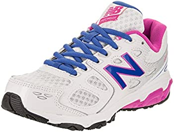 New Balance 680v3 Girls Grade School Shoes (White)