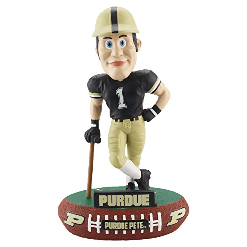 Forever Collectibles Purdue Boilermakers Mascot Purdue Pete Baller Special Edition Bobblehead