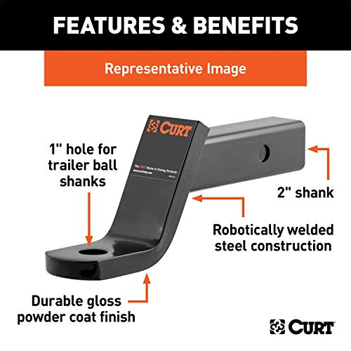 curt trailer hitch 1 7 8 - 1