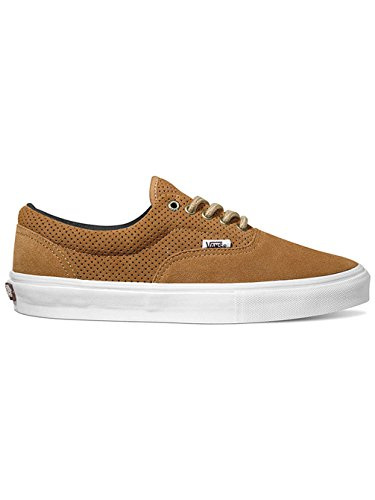 Vans Skate Zapato Hombres Furgonetas Era Pro Skateshoes, (Perforated) Tobacco (perforated) tobacco