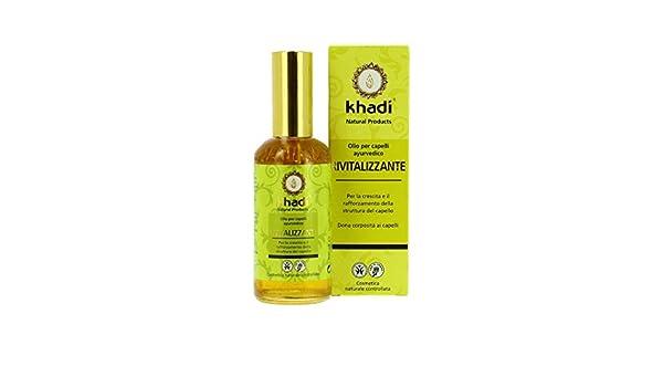 Khadi – Aceite capilar revitalizante 100 ml: Amazon.es: Belleza