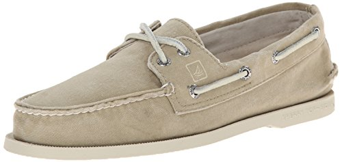 Sperry Top-Sider Men's Authentic Origiinal SW Canvas Boat Shoe, Chino, 11 M US