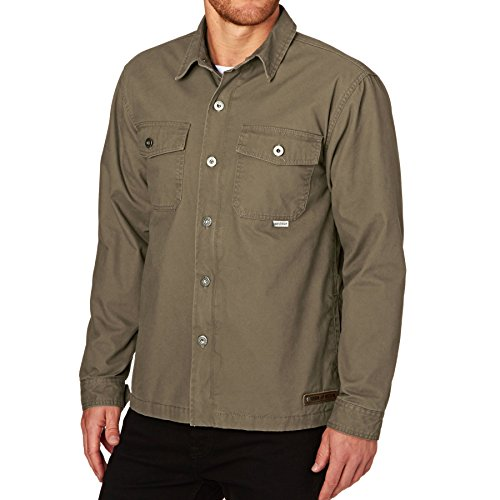 Iron and Resin Jackets - Iron and Resin Wheeler Shirt Jacket - Field Tan