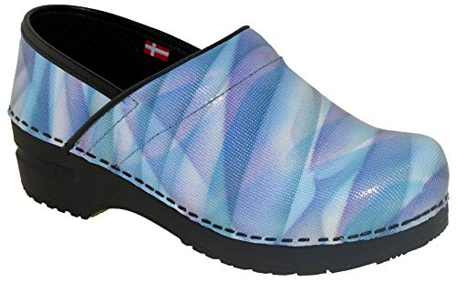 Sanita Women's Original Limited Edition Professional Clog Light Blue, ()