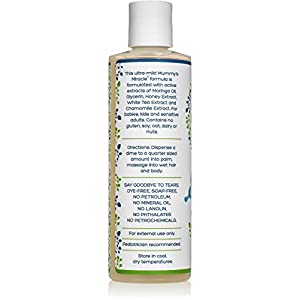 All Natural Mummy's Miracle Moringa Baby Wash & Shampoo Hypoallergenic-Pack of 2