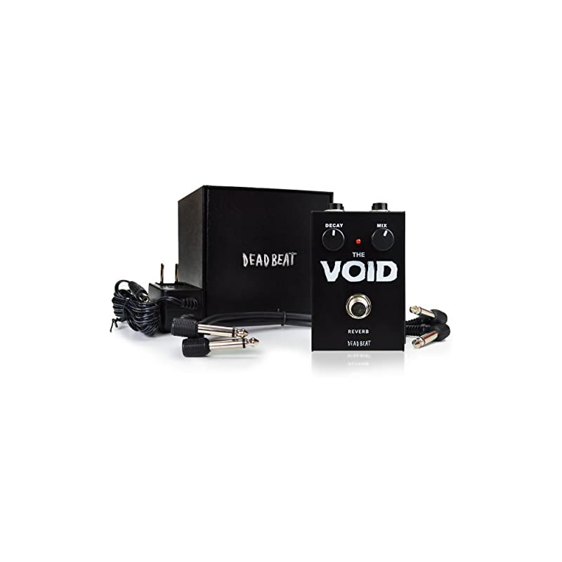 THE VOID Reverb Effect Pedal by Deadbeat